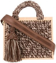 711 - Borsa 'Lucienne St. Barts' - women - Acrylic/Lurex - OS - BROWN