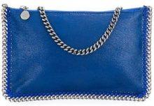 - Stella McCartney - Clutch Falabella - women - fibra sintetica - Taglia Unica - di colore blu