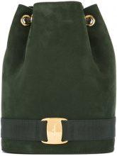 Salvatore Ferragamo Vintage - Vara backpack - women - Suede/Leather - OS - GREEN