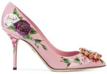 Dolce & Gabbana - Bellucci pumps - women - Leather - 35, 36,5, 37, 37,5, 38,5, 39, 39,5, 40, 36, 38, 41, 35,5 - Rosa & viola