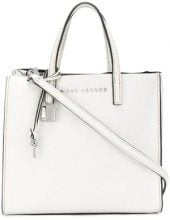 Marc Jacobs - square shaped tote bag - women - Leather - One Size - WHITE