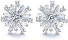 Fei Liu Fine Jewellery-Orecchini a forma di fiocco di neve