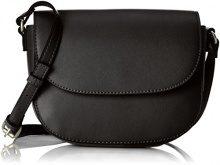 s.Oliver (Bags) City Bag - Borse a tracolla Donna, Nero (Black), 7x18x20 cm (B x H T)