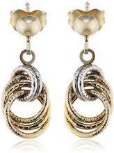 9 carato Celesta Damen-orecchini (375) Bicolor 324320052-2