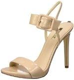 Guess Abbie2 Patent Pu, Scarpe Col Tacco con Cinturino a T Donna