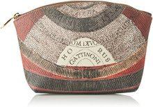 Gattinoni Gpls002, Pochette da Giorno Donna, Grigio (Tibetan), 7,5x17x25 cm (W x H x L)
