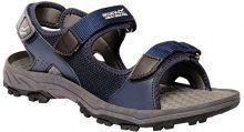 Regatta Terrarock, Sandali con Cinturino alla Caviglia Uomo, Blu (Navy/Granite), 46 EU