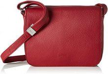 Bree 10112, Borsa a tracolla Donna, Rosso (Rosso (Brick Red 160)), 20x8x25 cm (B x H x T)