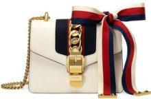 Gucci - Sylvie leather mini chain bag - women - Leather/Nylon/metal/Microfibre - OS - Color carne & neutri
