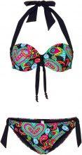 Bikini con ferretto (Nero) - bpc bonprix collection