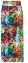 - Lygia & Nanny - Orixá midi skirt - women - fibra sintetica - Taglia Unica - di colore verde