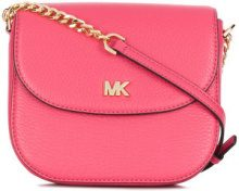 Michael Michael Kors - Dome cross-body bag - women - Leather - One Size - PINK & PURPLE