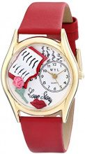 Whimsical Watches C-0450001 - Orologio da polso, unisex, pelle, colore: multicolore