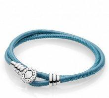 Pandora Bracciali di corda Donna argento - 597194CTQ-D3