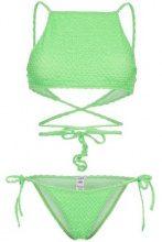 Ack - filo bikini set - women - Polyamide/Polyester/Spandex/Elastane - XS, S, M, L - Verde