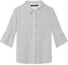 Scotch & Soda Maison Woven Top with Special Sleeve, Vestaglia Donna, (Combo C 19), Large