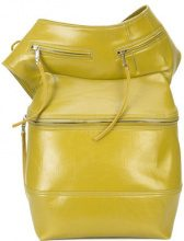 Rick Owens - Cargo Chap bag - women - Cotton/Spandex/Elastane - OS - GREEN