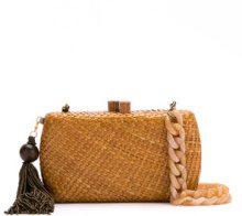Serpui - straw clutch - women - Straw - OS - NUDE & NEUTRALS