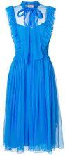 Nº21 - Vestito increspato - women - Silk - 48, 40, 44, 42 - BLUE