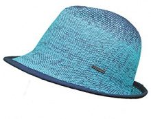 CaPO Ibiza Color HAT, Cappello da Sole Donna, Turchese (Turquoise 67), Taglia unica