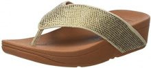 Fitflop Crystall II Toe-Thong, Infradito Donna, Oro (Gold Mix), 41 EU
