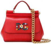 Dolce & Gabbana - Borsa a spalla Sicily St. Iguana - women - Calf Leather - OS - RED