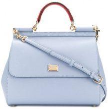Dolce & Gabbana - Borsa a spalla 'Sicily' - women - Leather - OS - Blu