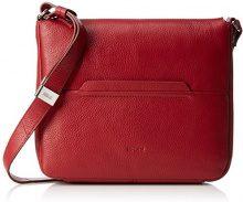 Bree Borsa a tracolla Donna, Rosso (Rosso (brick red 160)), 29x30x9 cm (B x H x T)