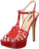 Guess Kamali Patent Pu, con Cinturino alla Caviglia Donna