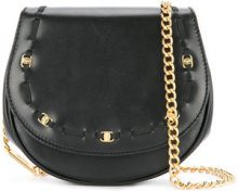 Salvatore Ferragamo Vintage - Vara 2way chain shoulder bag - women - Leather - OS - Nero