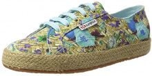 Superga S00BNE0, Low-Top Donna, Multicolore (Multicolore (Weaving Natural Azul C94)), 40 EU