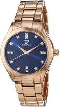 Time Piece TPLA-91021-35M Orologio da polso, da donna, analogico, al quarzo, in lega
