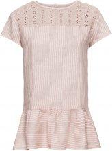 Blusa a righe in lino (rosa) - BODYFLIRT