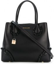 Michael Michael Kors - Borsa Tote 'Mercer Gallery' - women - Leather - One Size - Nero