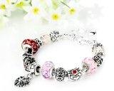 FLORAY braccialetto per le ragazze, i monili di modo, fiore Beads Regina fascino, bello regalo.