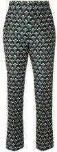Marni - Pantaloni 'Portrait' - women - Silk/Cotone - 38, 40, 44, 46 - BLUE