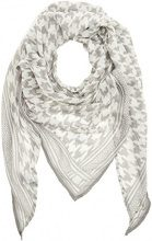 Tom Tailor Printed Triangle Scarf, Sciarpa Donna, Avorio (Whisper White 8210), Taglia unica