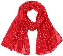 Codello 81026805, Sciarpa Donna, Rosso (Red 1), Unica (Taglia del Produttore: EG)