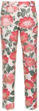 Dolce & Gabbana - Pantaloni skinny a fiori - women - Cotone - 38, 40, 42, 46, 48 - Color carne & neutri