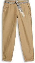ESPRIT 037ee1b008, Pantaloni Donna, Beige (Khaki Beige), W40/L30 (Taglia Produttore: 40/30)