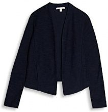ESPRIT 997ee1g800, Cardigan Donna, Multicolore (Navy 400), Small
