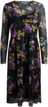 PIECES Flowered Longsleeved Dress Women Black