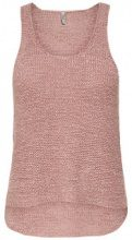 ONLY Knitted Tank Top Women Pink