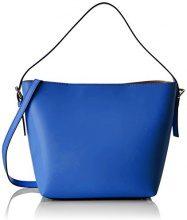 Chicca Borse 8698, Borsa a Spalla Donna, Blu (Blue), 33x26x13 cm (W x H x L)