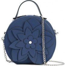 Christian Siriano - floral embellished shoulder bag - women - Polyester - OS - Blu