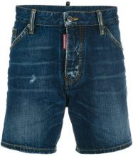 Dsquared2 - Pantaloncini in jeans - men - Cotone/Polyester/Wool - 46, 44, 48 - BLUE