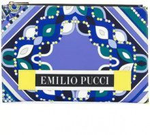 Emilio Pucci - abstract print flat clutch - women - Polyester/Calf Leather/Viscose/Polyamide - One Size - Rosa & viola