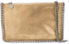 Stella McCartney - Falabella clutch - women - Artificial Leather - One Size - YELLOW & ORANGE