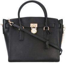 Michael Michael Kors - Hamilton tote bag - women - Leather - One Size - Nero