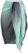 Tara Matthews - Marinella woven pareo scarf - women - Cashmere - OS - Blu
